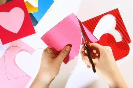 making hearts