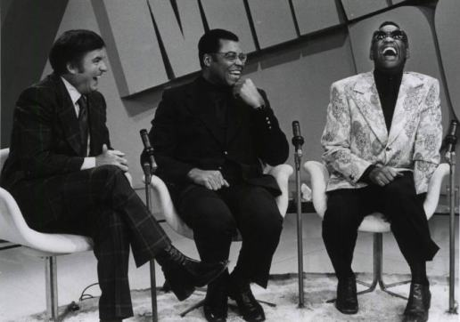 TV - Mike Douglas, James Earl Jones, Ray Charles - 19740204