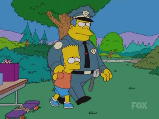 Chief_Wiggum_Arresting_Bart